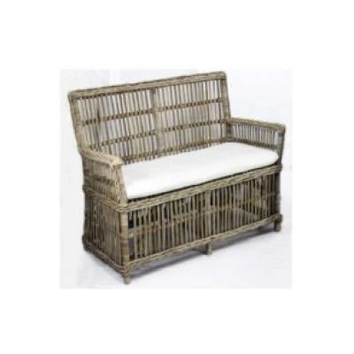 Rotan tuinbank luxury incl kussen A&D Collections