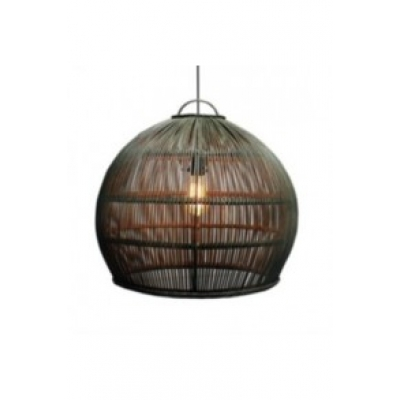 Hanglamp pitrit L riet incl. elektra A&D Collections