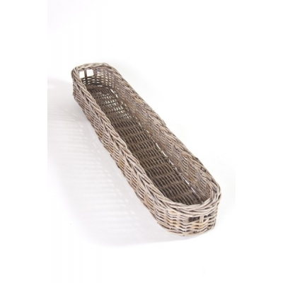 Stokbrood mand riet L(80cm)  A&D Collections