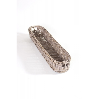 Stokbrood mand riet M (60cm) A&D Collections