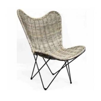 Vlinderstoel comfort rotan A&D Collections