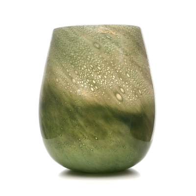 Glas Vaas Design Green A