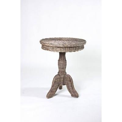 Rustic rotan tafel