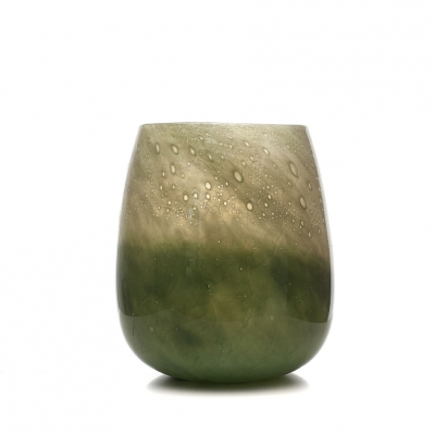Glas Vaas Design Green B