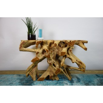 Wand console teak hout A&D Collections