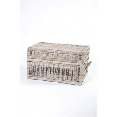 Rieten kist 'Hampton Hill' Koboo A&D Collections
