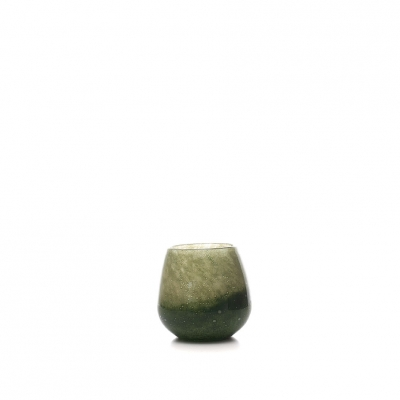 Glas vaas Design Green D