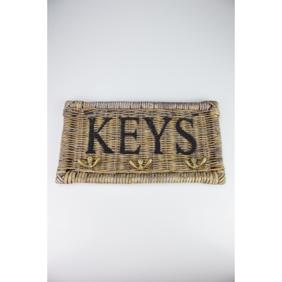 Sleutelbord riet 'keys' A&D Collections
