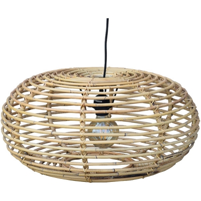 Rotan hanglamp by A&D Collections